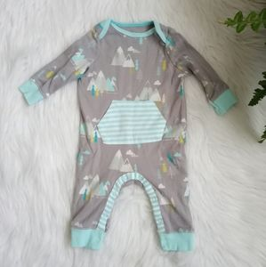 Cloud island woodland bodysuit